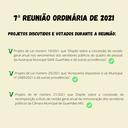 7ª Reunião Ordinária de 2021