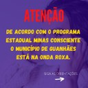 Guanhães está na Onda Roxa do programa Minas Consciente